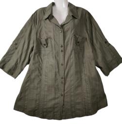 KJ BRAND Aparte stretch blouse 54