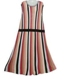 YESTA Aparte lange stretch jurk 54-56