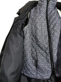 ULLA POPKEN Prachtige zwarte jas 62-64