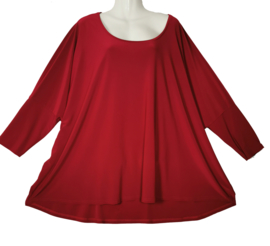 ENTREE Oversized stretch shirt free size