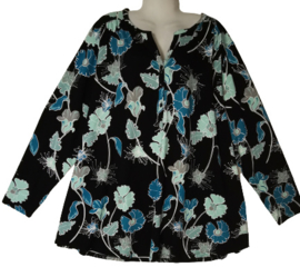 YESTA Trendy wijd stretch shirt 54-56