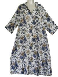 STUDIO Prachtige lange door knoop jurk 52