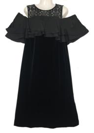 MAT FASHION feestelijke stretch velvet jurk 44