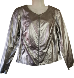 SALLIE SAHNE Apart zilver jasje 42