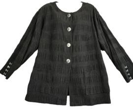 MARA LEA Apart zwart blouse/jasje 46-48