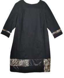 VERPASS Luxe zwarte stretch jurk 52
