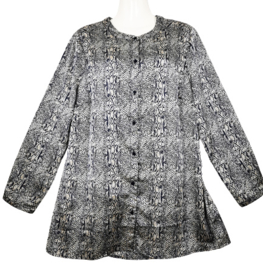 SIGNATURE Mooie soft satin blouse 46