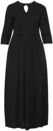 ANNASCHOLZ Prachtige lange stretch jurk 42-44