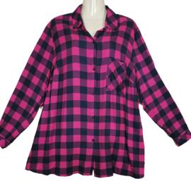 MAXIMA Trendy wijde  blouse 48
