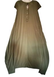 LA STAMPA Prachtige wijde jurk 44-46