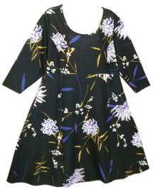BELLOYA Prachtige stretch A-lijn jurk 46-48