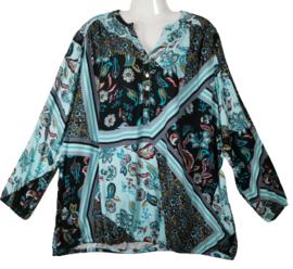 YESTA Mooie print blouse 52