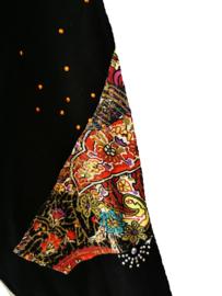 ECOLE Apart zwart stretch shirt 46