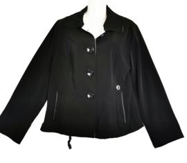 NO PROBLEM Trendy zwart  jasje 44