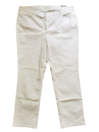 TONI RELAXED Prachtige witte stretch broek 50
