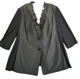 SAMOON Super mooi zwart jasje 54