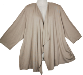 SAMOON Heerlijk tricot stretch vestje 52