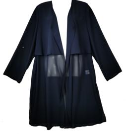 Q-NEEL Apart voile lange blouse 44-46