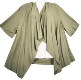 CHALOU Trendy tricot vestje 48