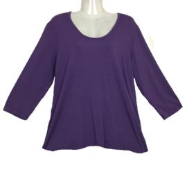 EXELLE basic shirt met 3/4 mouw 44