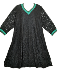 YOEK Trendy kanten jurk 50-52 (XL)