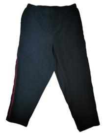 DEX Aparte wijde stretch broek met velvet 48-50