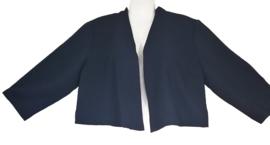 LA LEMON Super leuk stretch jasje 44 (zwart)