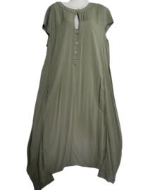 LA STAMPA Prachtige wijde jurk 46