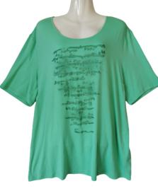 BARBARA LEBEK Leuk groen stretch shirt 48