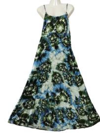 JIN JINNY Mooie lange viscose jurk 44-46