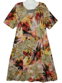 SEMPRE PIU Prachtige stretch jurk 44-46