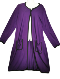 BOHEME Lang stretch tricot vest 50