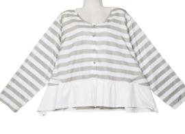 MOONSHINE Aparte wijde blouse 50-52
