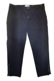 NO SECRET Trendy stretch broek met knopen 44