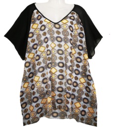 OPHILIA Mooie zomerblouse 50-52