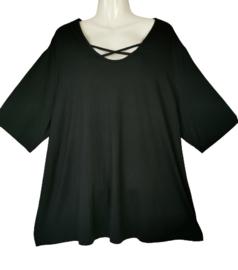 VERPASS Mooi zwart stretch shirt 52