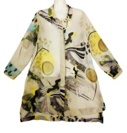 QUE! Prachtige lange blouse 46