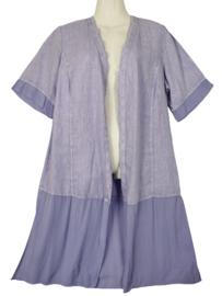 DORISSTREICH Aparte lange linnen blouse 44-46