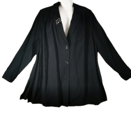 CHALOU Zwarte blazer 54