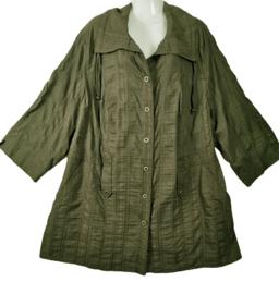 KJ BRAND aparte wijde stretch blouse 54