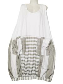 MOONSHINE Aparte ballon jurk 48-52