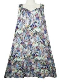 FRANSISKA Heerlijke wijde stretch jurk 50-52