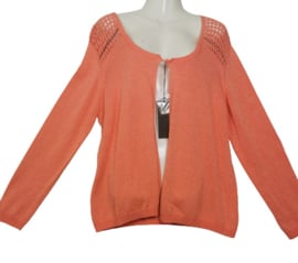 ALLIANCE Mooi peach vest 48