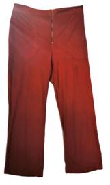 OCTOBER  Gave velvet stretch broek 50-52