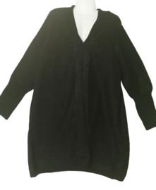 YESTA Prachtig zwart vest 50
