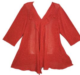 COTO Apart linnen gebreid vest 52