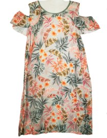 MAXIMA Aparte viscose jurk 46
