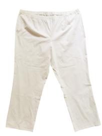 CHALOU Mooie witte stretch broek 56