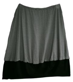 VETONO Aparte tricot stretch rok 50