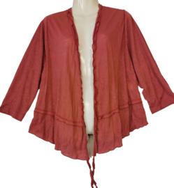 MAXIMA Trendy tricot vestje 52